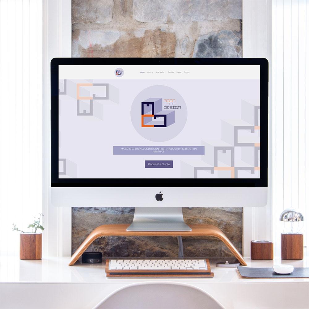 Moon Cube Design. Website Design, Web Development, WordPress, Joomla, Squarespace