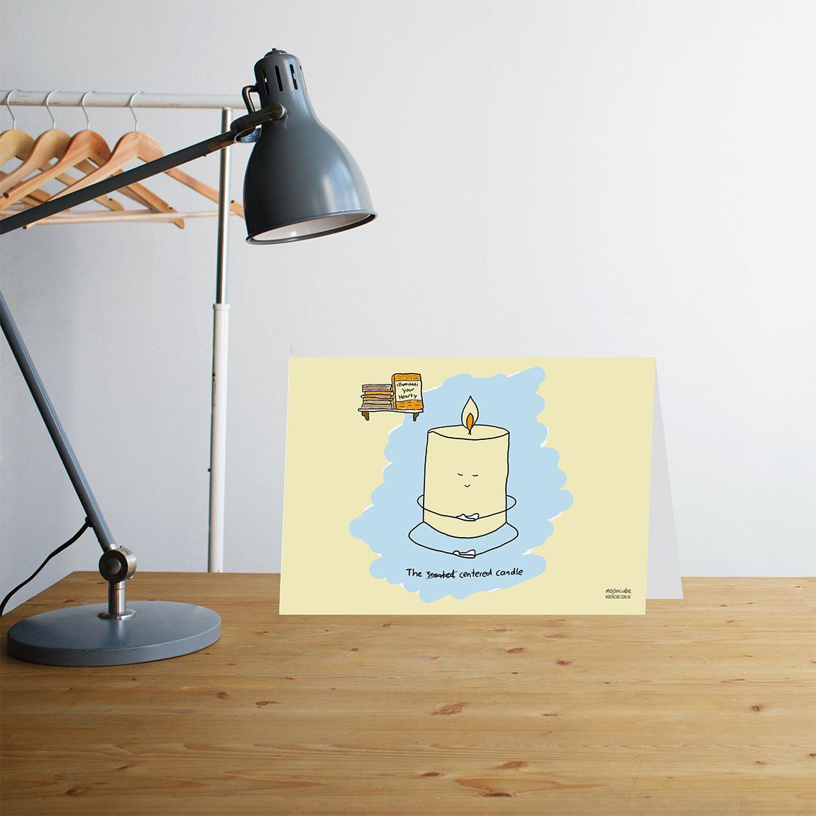 Moon Cube, Greeting Cards. Cartoons, comics, Australia.