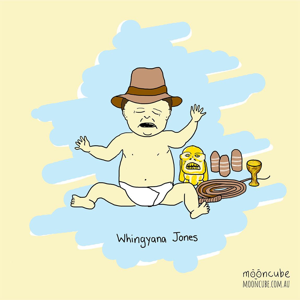 mooncube Artist, Cartoonist. Parenthood. Indiana Jones comic.